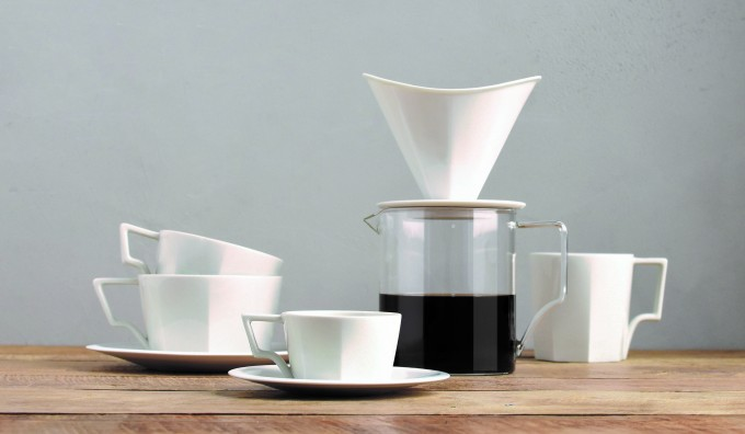 インテリアにもなる、コーヒーウェア「OCT」