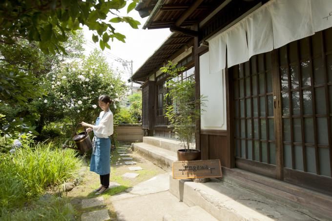 葉山の古民家カフェの寺田由利加さん3