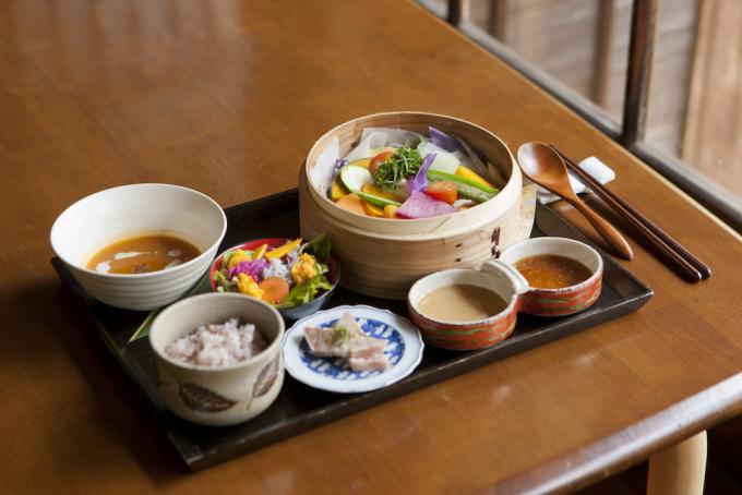 葉山の古民家カフェ「engawa cafe & space」の料理