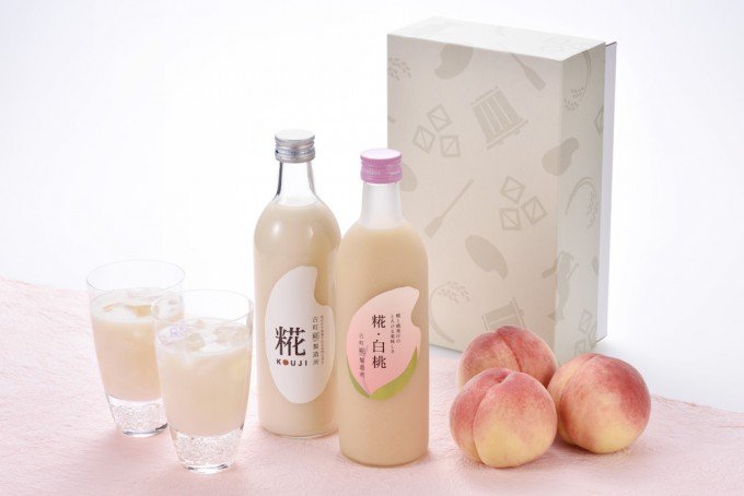 『古町糀製造所』の旬の甘酒「糀・白桃」