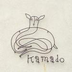 奈良の『鹿の舟』内にある食堂「竈 Kamado」のロゴ