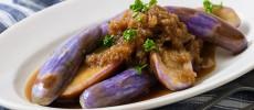 夏野菜をバルサミコ酢でさっぱりと。「マーブルナスの揚げびたし」のレシピ