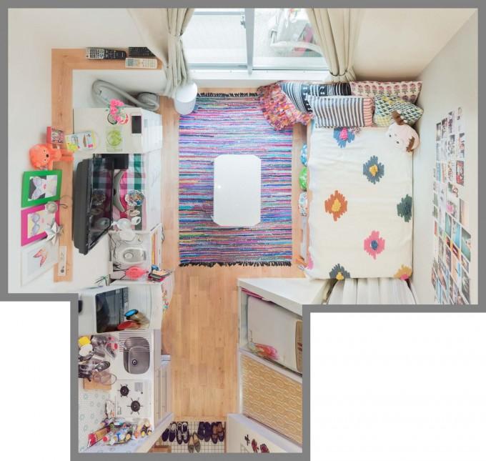 グッドルームのリノベ賃貸「TOMOS」。6畳未満ワンルームのお部屋