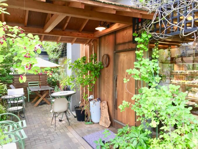 奈良市にあるスイーツのお店「空気ケーキ。」の入り口