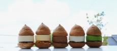 ふわっとした可愛らしいかたちの奈良のスイーツショップ「空気ケーキ。」5種類
