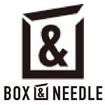 「BOX&NEEDLE(ボックスアンドニードル)」のロゴ