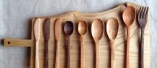 テーブルコーディネートがワンランクアップ。「さくらい商店」の心惹かれる木製カトラリー