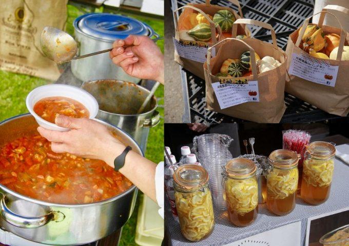 北海道の新鮮な食材を使った料理