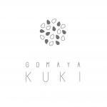 表参道アイス店「GOMAYA KUKI」のロゴ