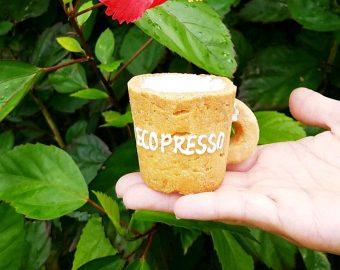 カップまで丸ごと食べられる?!美味しくて可愛い「エコプレッソ」
