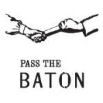 「PASS THE BATON(パスザバトン)」のロゴ