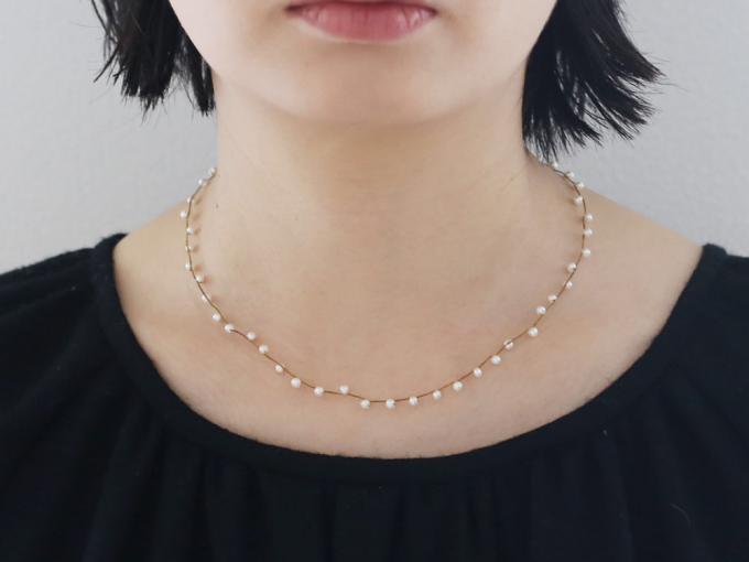 大人女子におすすめのパールアクセサリー「Amito(アミト)」のネックレス