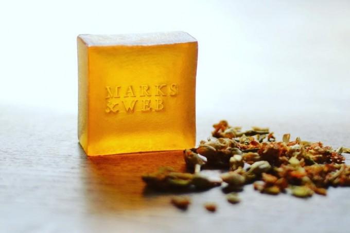 「MARKS&WEB」のジャスミンの香りの石けん