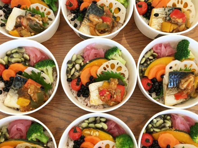 「うみのアパルトマルシェ」に出展する『食堂nogi』のお弁当