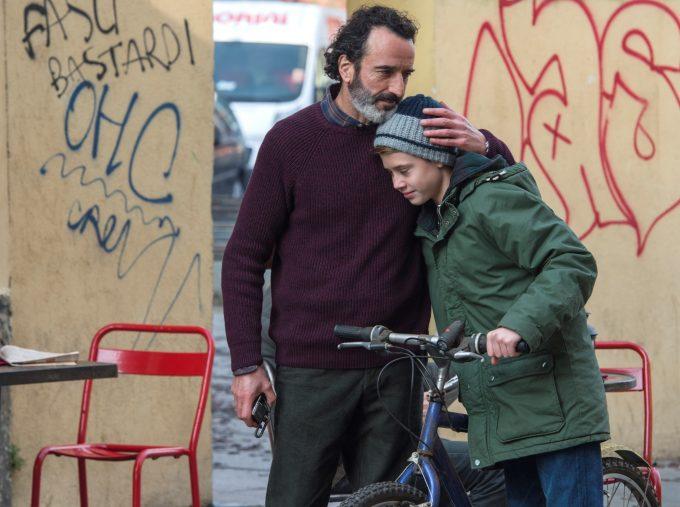 「はじまりの街」で息子 ヴァレリオを演じるアンドレア・ピットリーノ