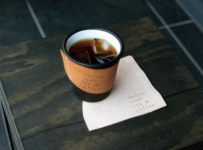 「artless craft tea & coffee」の水出しコーヒー