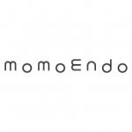 「momoendo(モモエンドウ)」のロゴ