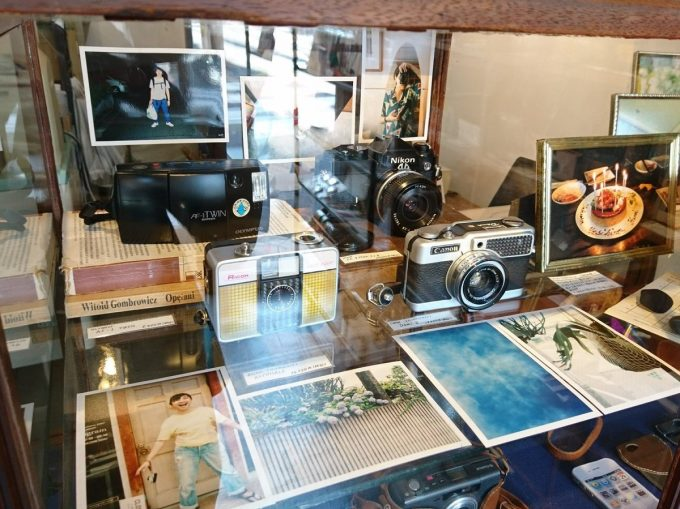 「monogram」で売っている中古フィルムカメラの種類が分かる画像