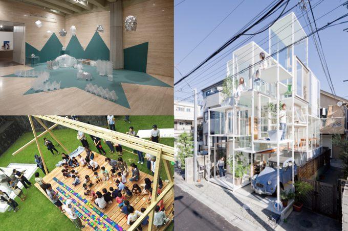 実物大の建築模型も展示されている『MOMAT サマーフェス』