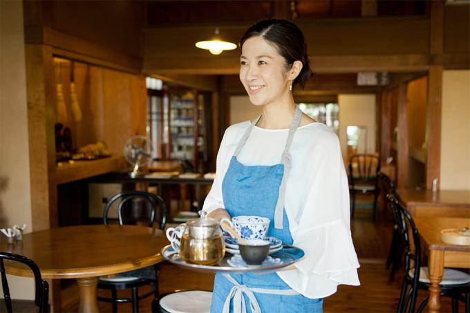 葉山の古民家カフェの寺田由利加さん2