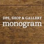 東京・学芸大学にある写真屋「monogram」ロゴ