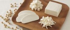 切ってある豆乳チーズ「チーズのような豆乳ぶろっく」