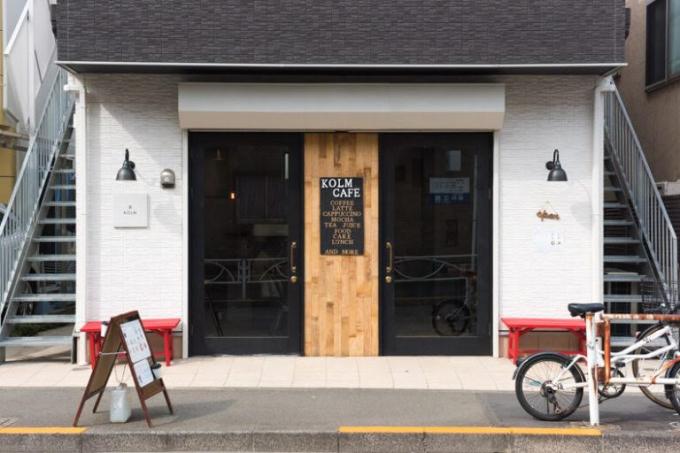 三軒茶屋のおすすめカフェ、KOLMのこだわりのオムライス