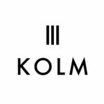三軒茶屋にあるコーヒーとこだわりたまごのカフェ「KOLM(コルム)」のロゴ