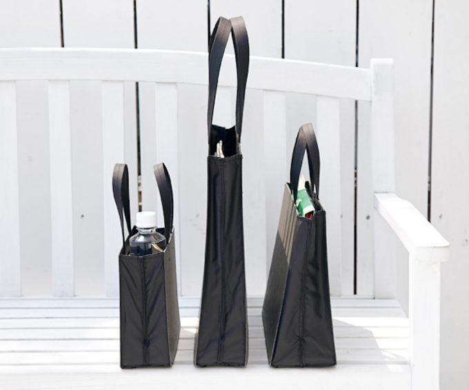 「PATTA」のスマートなデザインとブラックカラーの画像