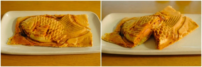 国領の鯛幸房の美味しい「ボーノたい焼き」画像