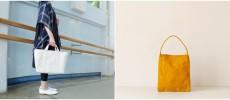 トートバッグの「SATTE HANPU(サッテハンプ)」と「ateliers PENELOPE(アトリエぺネロープ)」の画像