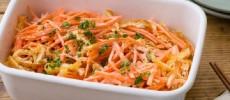 お弁当やあと一皿の彩に。にんじんを使った常備菜「にんじんと焼きおあげのコールスロー」