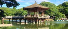 奈良の穴場スポット「浮見堂」