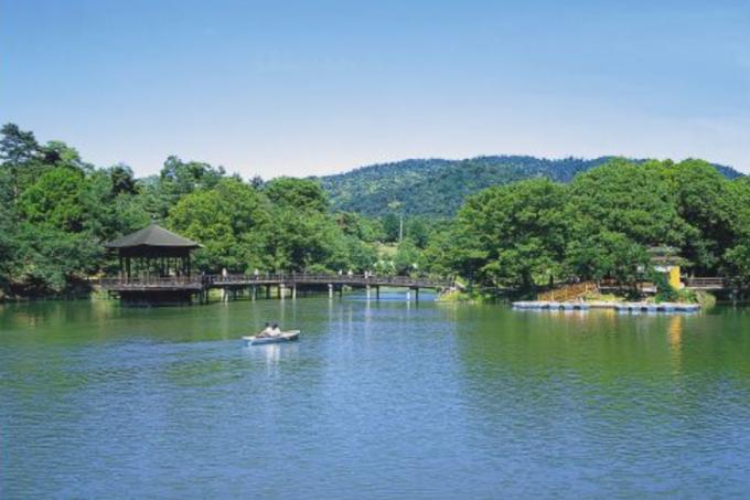 奈良の穴場スポット「浮見堂」夏