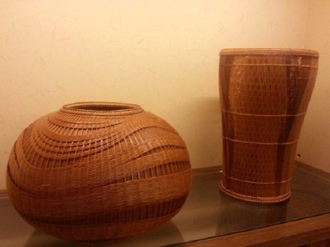 竹工芸専門店の「竹工芸 翠屋(みどりや)」の伝統技法