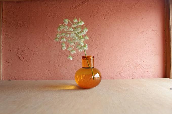 おすすめ一輪挿し、「TOUMEI」のガラス製花瓶
