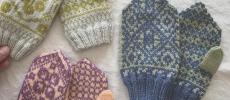 「handmade mittens SUNAO」のこども用ミトン