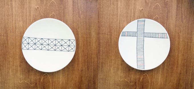 陶芸家・勝村 顕飛さんが製作した小皿