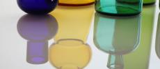 「TOUMEI(トウメイ)」のガラス製のフラワーベース数種類