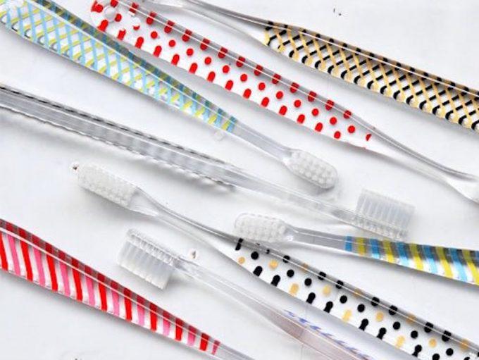 「Qun boon(キブン)」のカラーとデザインの歯ブラシが分かる画像