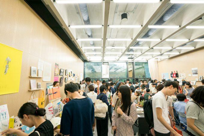 「THE TOKYO ART BOOK FAIR」のアートブックフェアの様子