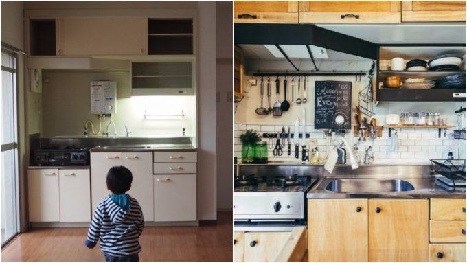 DIYで叶えるキッチンスッキリ術