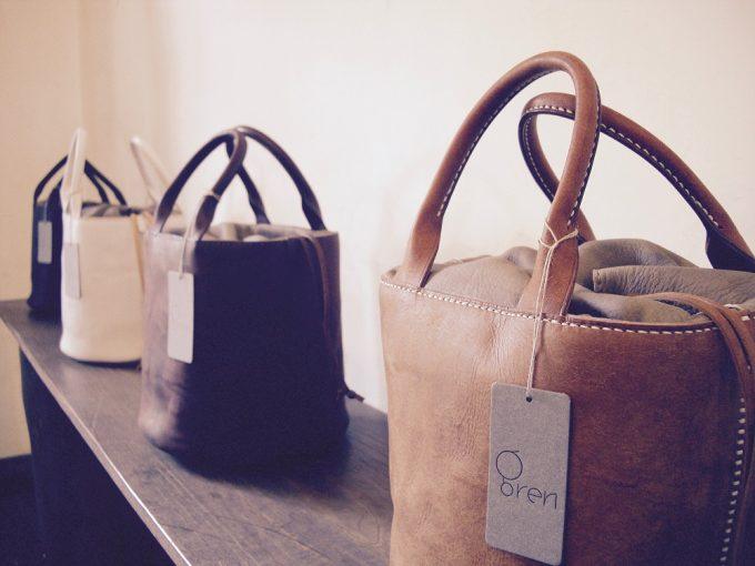 grenの革のバッグ