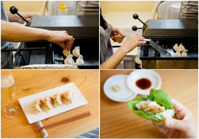 神奈川県伊豆の「ハトコヤ」の餃子の作り方
