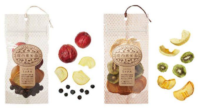 「堀内果実園」のドライフルーツの人気アイテム