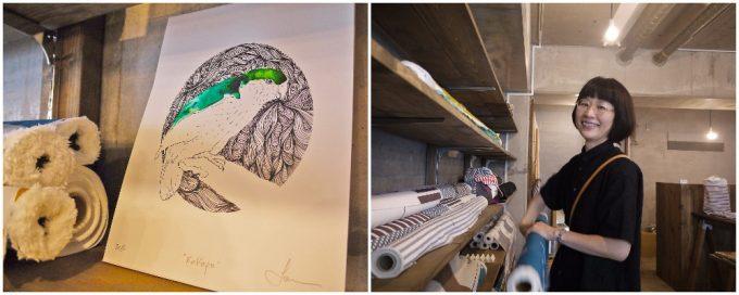 「kakapo」のデザイナーとブランドロゴ