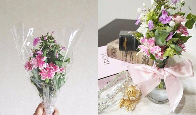 ワンコインで旬の花束が届くサービス「Bloomee LIFE(ブルーミーライフ)」