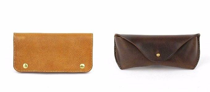 ジャバラ長財布とメガネケース