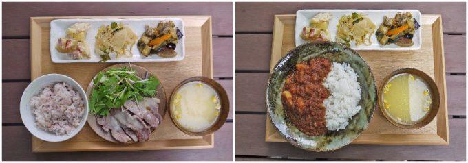 tiny peace kitchenのカレー定食