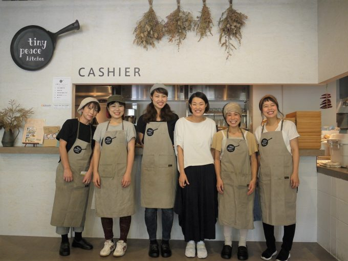 永田町tiny peace kitchenのメンバー